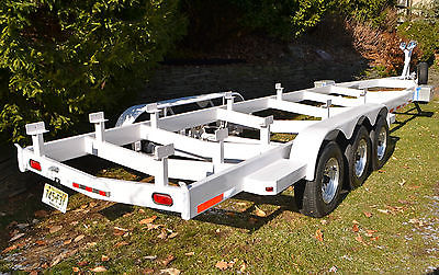 35' - 40' Boat Trailer, 2002 tri-axle, 15k lbs, Excellent Cond. $6,800