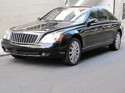 Maybach 57-S In Black with only 11,622 miles! 2007 maybach 57 s black with black low miles
