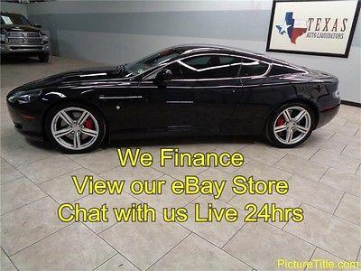Aston Martin : DB9 DB9 Coupe V12 08 aston martin sport db 9 coupe 5.9 l v 12 gps navi wood trim we finance texas