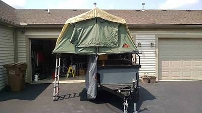 Manley ORV MORV Jeep JK off road Military camping trailer Explore model like new
