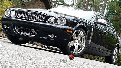 Jaguar : XJR Super 8 V8 XJR Vanden Plas VDP CLEANEST 08 Super 8 V8 Black/Barley TV 19