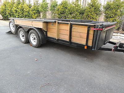 utility,landscape, trailer +camper / toy hauler option