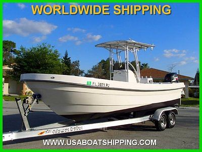 2009 SEA CHASER 1900 OFFSHORE SERIES! 27 HOURS! BRAND NEW CONDITION!
