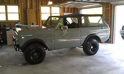 International Harvester : Scout Scout II International Harvester 1973 Scout II with Soft Top.