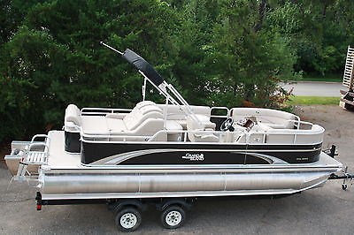 Special---New 22 ft tritoon pontoon boat