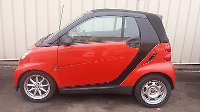 Smart : fortwo 2008 smart fortwo passion cabrio convertible 2 door 1.0 l