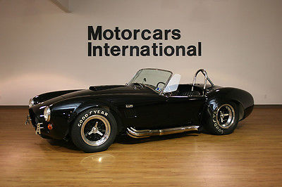 Shelby : 427 Cobra CSX3281 Roadster Extremely rare 427 Cobra and fully documented in the Shelby American Registry