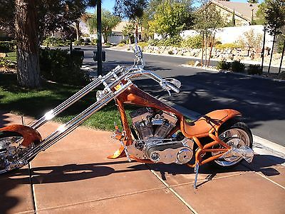 Bourget : Retro Chopper 2003 bourget retro chopper with 113 cubic inch motor custom paint