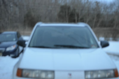 Saturn : Vue Base Sport Utility 4-Door great condition white saturn vue with moonroof
