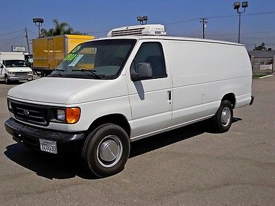 Ford : Other AVAILABLE- NATIONWIDE FINANCING SHIPPING WARRanty REFRIGERATED CARGO VAN FULL SIZE EXTENDED REEFER THERMO KING DIESEL 1TON TRUCK