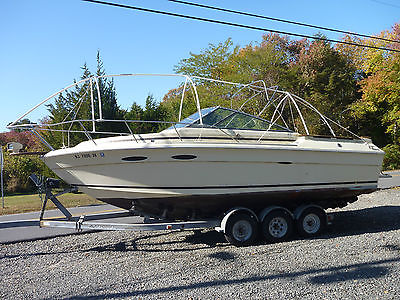 Sea Ray Amberjack 255; 454 Mercruiser; 3 Axle Trailer; TRS Outdrive; Hull Solid