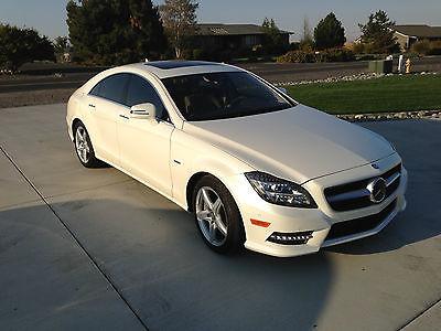 Mercedes-Benz : CLS-Class CLS 550 CLS 550, 4 Door, 4MATIC, White Diamond Paint, 4.6L bi-turbo,