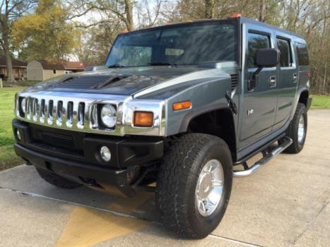 Hummer : H2 4dr Wgn 4WD HUMMER H2 LOADED DVD ONSTAR LUXURY SATELLITE RADIO REAR CLEAN CARFAX