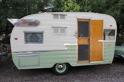 1961 Shasta Airflyte vintage travel trailer, professionally restored