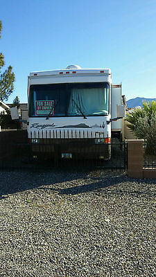 37 FT HARNEY COACH MOTOR HOME 44000 MILES