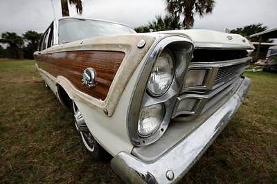 Ford : Galaxie COUNTRY SQUIRE 1966 ford country squire v 8 390 62 k original miles