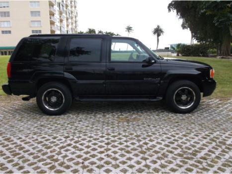 Cadillac : Escalade 4dr 4WD 1999 cadillac escalade 4 x 4 black rims suv tow package florida driven