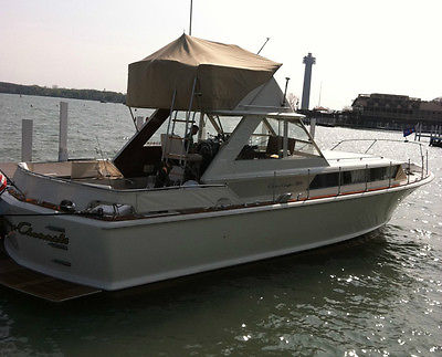 1967 38' Chris Craft Commander Express Classic Boat
