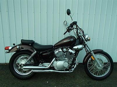 Yamaha : V Star 2009 yamaha v star xv 250 in maroon um 20501 tm