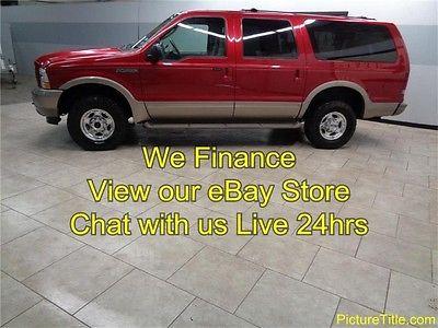 Ford : Excursion Eddie Bauer 4WD 03 excursion eddie bauer 4 x 4 powerstroke diesel we finance 1 texas owner