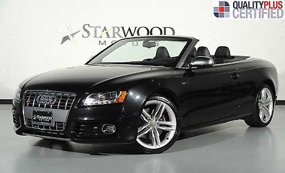 Audi : S5 Convertible Premium Plus 2011 audi s 5 convertible premium plus navigation back up camera heated seats