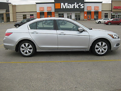 Honda : Accord ex-l 4 dr sedan excellent condition leather heated seats gps handsfree sunroof