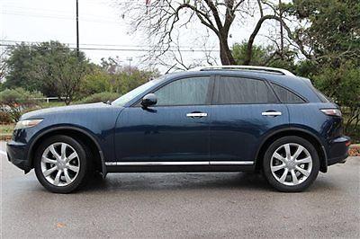 Infiniti : FX 4dr 2WD Infiniti FX35 4dr 2WD SUV Automatic Gasoline 3.5L V6 Cyl Sapphire Pearl