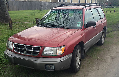 Subaru : Forester S Wagon 4-Door 1998 subaru forester s wagon 4 door 2.5 l