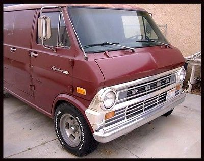 Ford : E-Series Van SUPERVAN 1973 superb ford econoline e 200 supervan rebuilt motor air cond sound