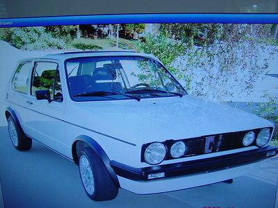 Volkswagen : Rabbit GOLF GTI VW VOLKSWAGEN 1978 GTI RABBIT EURO SPEC SPORT TUNED ORIGINAL CURRENT CALIF SMOG