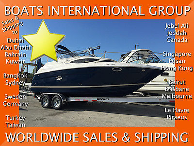 2008 REGAL 2565 W EXPRESS 135 hrs BLUE HULL CLEAN BOAT We Ship/Export Worldwide