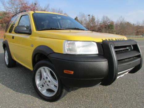 Land Rover : Freelander 2dr Wgn SE3 03 land rover freelander se 3 rare 79 k miles 70 pics no accidents awd yellow