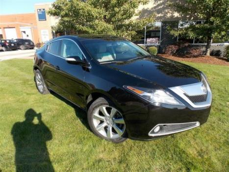 Acura : ZDX TECHNOLOGY 2011 acura zdx black technology pkg panorama roof navigation camera warranty