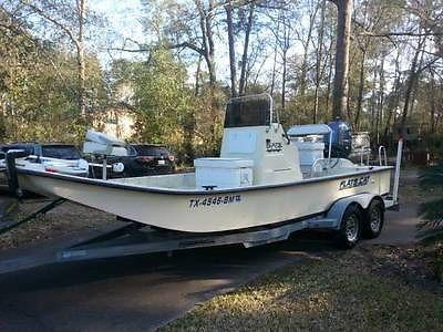 2012 FLATS CAT 21' Boat w/ 2012 Yamaha 150 4 Stroke Motor (26 hrs)--LOADED