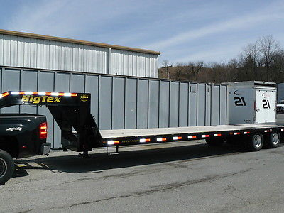 Used 2014 Big Tex trailer 22GN 30ft flat