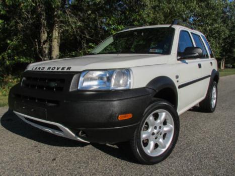 Land Rover : Freelander 4dr Wgn SE 03 freelander se v 6 beautiful 55 pics no accidents white 4 wd black heated seats