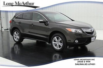 Acura : RDX Nav Moonroof All-Wheel Drive Certified Pre-Owned 2014 tech pkg 3.5 v 6 awd navigation heated leather sunroof 1 owner rear camera