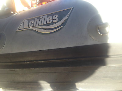 16.9' Achilles Hard Bottom Inflatable Powerboat