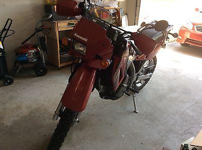Kawasaki : KLR Kawasaki Klr 650 model 2005
