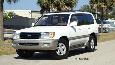 Toyota : Land Cruiser LAND CRUISER EXTRA CLEAN  2000 toyota land cruiser 4 x 4 3 row seating low miles ex clean