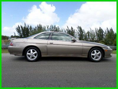Lexus : SC COUPE AUTOMATIC GOLD/TAN LOADED 2000 lexus sc 300 automatic coupe i 6 24 v sunroof clean carfax loaded