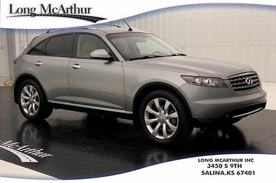Infiniti : FX Certified AWD Heated Leather Sunroof Remote Start 07 certified pre owned all wheel drive moonroof rear camera