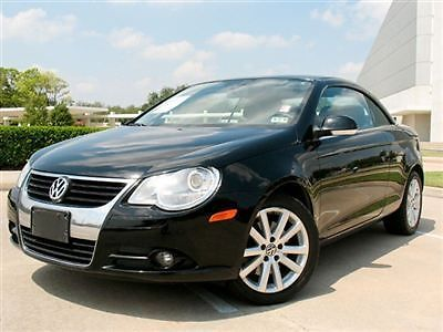 Volkswagen : Other 2.0T 2.0 t 07 vw eos convrtble pwr snrf lth htd sts mp 3 aux cd changer clean only 58 k