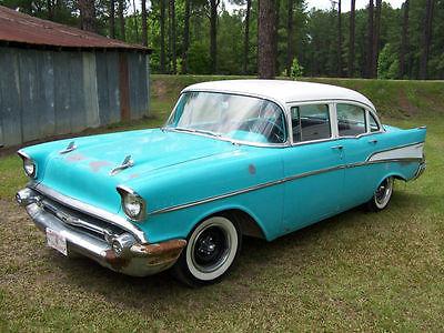 1957 4 door chevrolet cars for sale for 1957 chevy 4 door car for sale