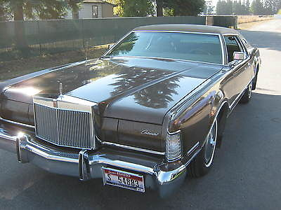 Lincoln : Mark Series Mark IV 1973 lincoln cont mark iv this car is in exceptional shape for it s age