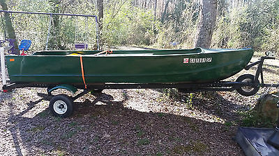 14 ft V Hull Fishing Boat