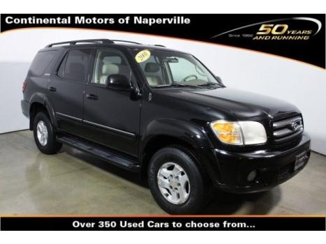 Toyota : Sequoia Limited Limited SUV 4.7L CD 10 Speakers AM/FM radio Cassette Air Conditioning ABS brakes
