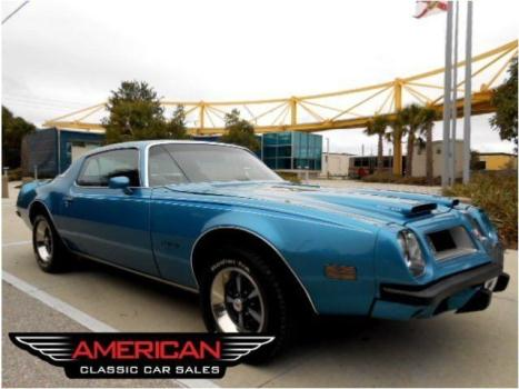 Pontiac : Firebird Formula 350 Show quality 4 Speed Manual With Formula Equipment PS PB Detailed Xtra Clean