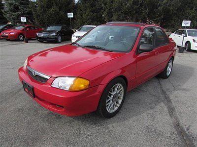 Mazda : Protege 4dr Sedan DX Automatic 4 dr sedan dx automatic automatic gasoline 1.6 l 4 cyl red