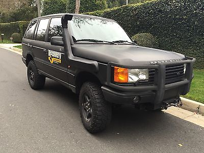 Land Rover : Range Rover Custom Range Rover AWESOME Custom Lifted Range Rover Bio Diesel 4X4 Off Road Excellent Trade ?
